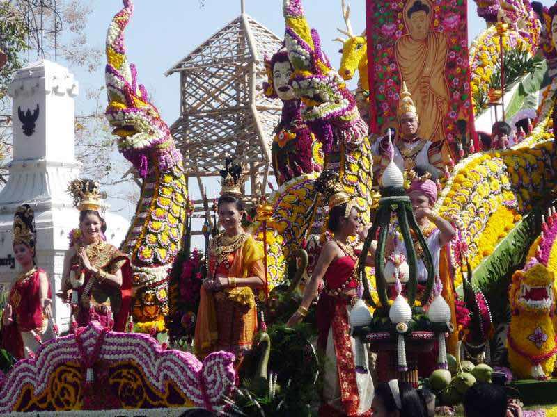 Festival de las flores de Chiang Mai