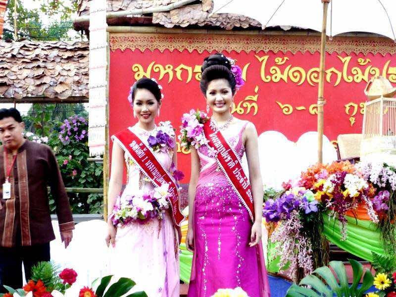 Elección de Miss Festival de las Flores de Chiang Mai