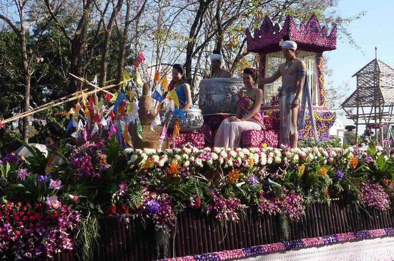 Fiesta de las flores de Chiang Mai