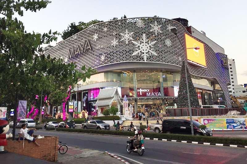que comprar en chiang mai : Centro comercial Maya