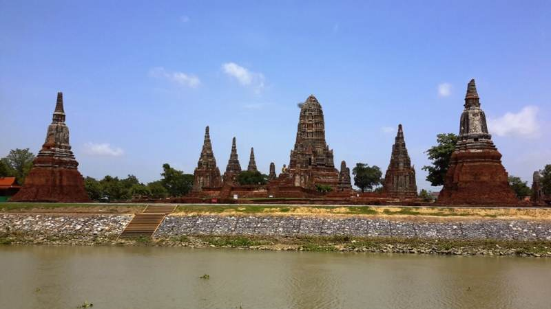 Templos de Wat Chai Watanaram