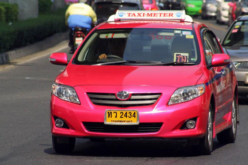 Taxis en Bangkok