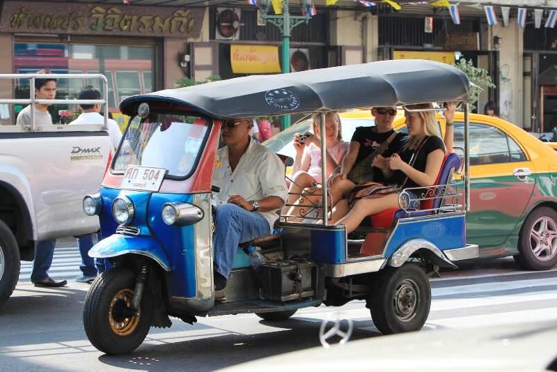 Los Tuc Tuc Tuc en Bangkok