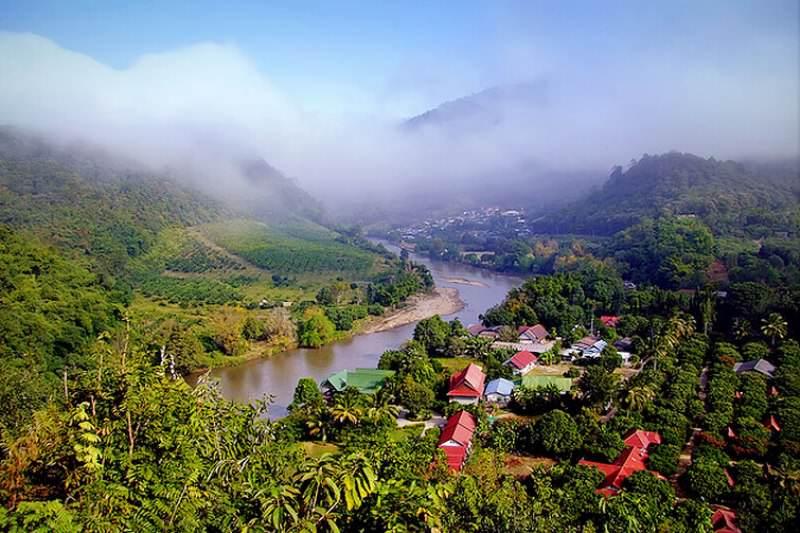 Rio Mae Kok en Chiang Rai