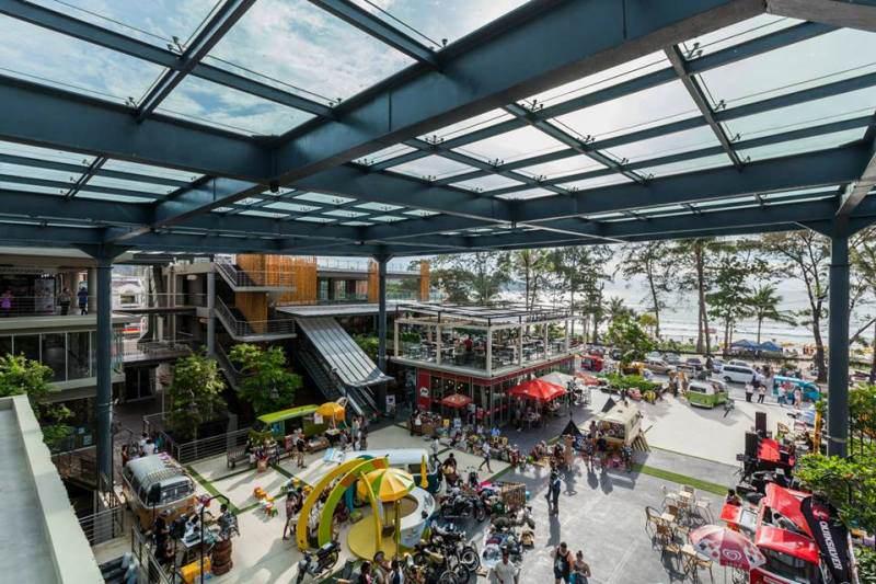Centro Comercial Banana Walk en Phuket