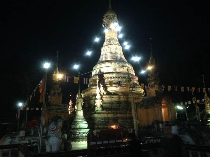 Fiesta budista de Macha Bucha