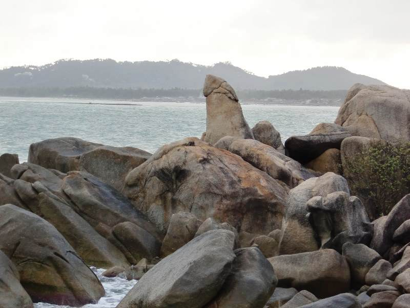 Los famosos roques de Koh Samui