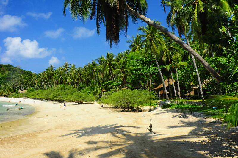 Playas de Thiang Ok Bay