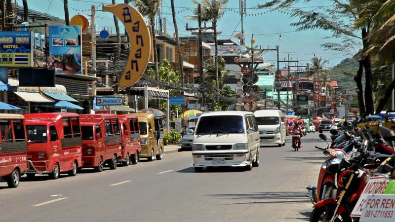 Tuc Tucs en Phuket