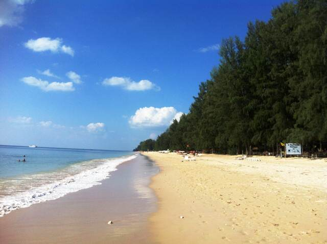 Playa de Long Beach en Koh Lanta