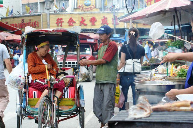 Barrio Chino de Chiang Mai