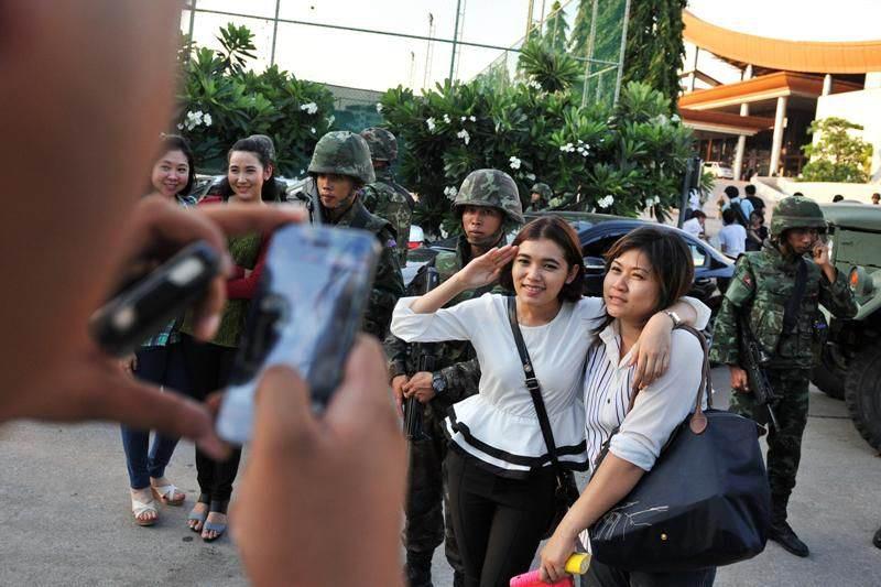 Seguridad para los turistas en Tailandia