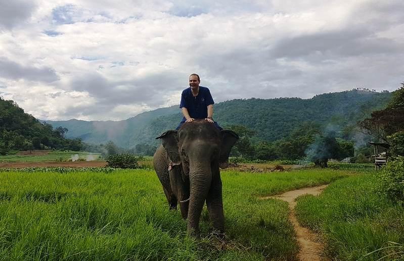 Campos de elefantes en Tailandia: Thai Elephant Home