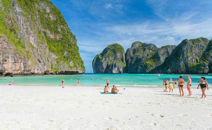 La mejor época para viajar a Tailandia Isla Phi Phi Maya Bay