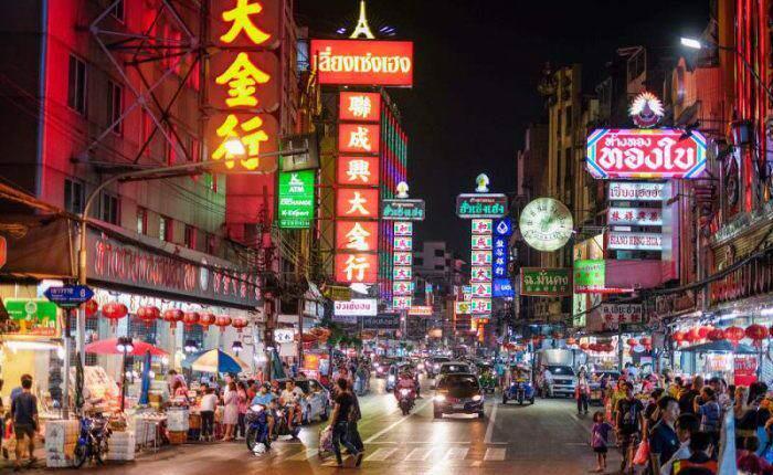 Barrio Chino en Tailandia