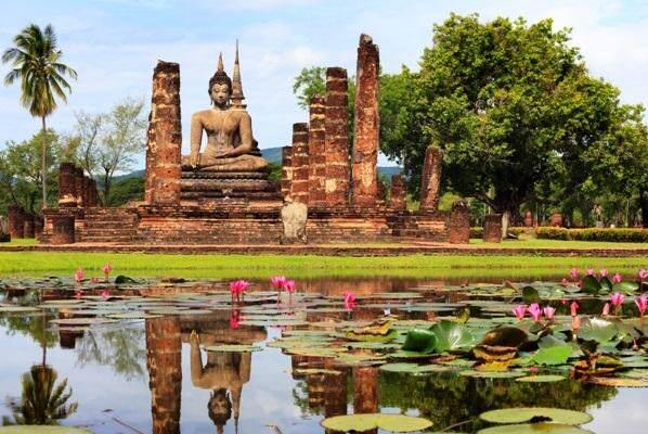 Sukhothai Wat Mahatat