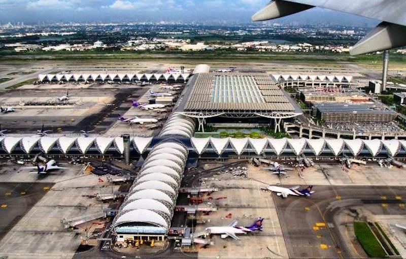 Aeropuerto de Bangkok Suwarnabhumi