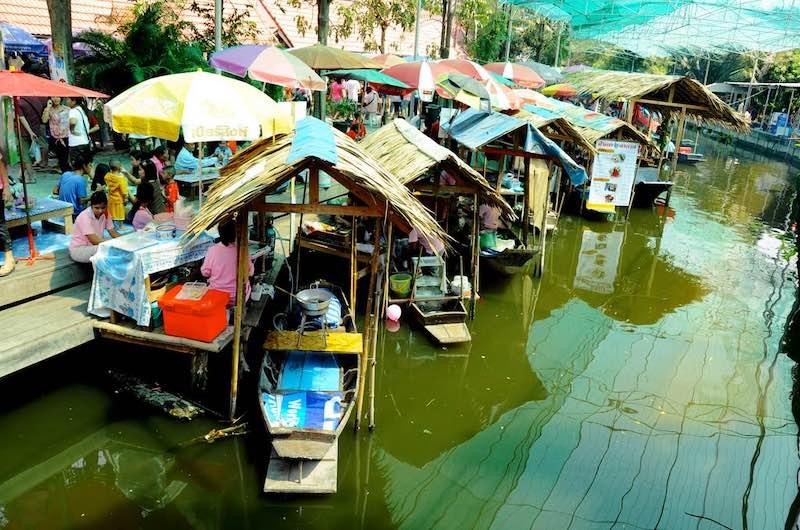 Mercados flotantes de Bangkok: Bang Nam Pheung