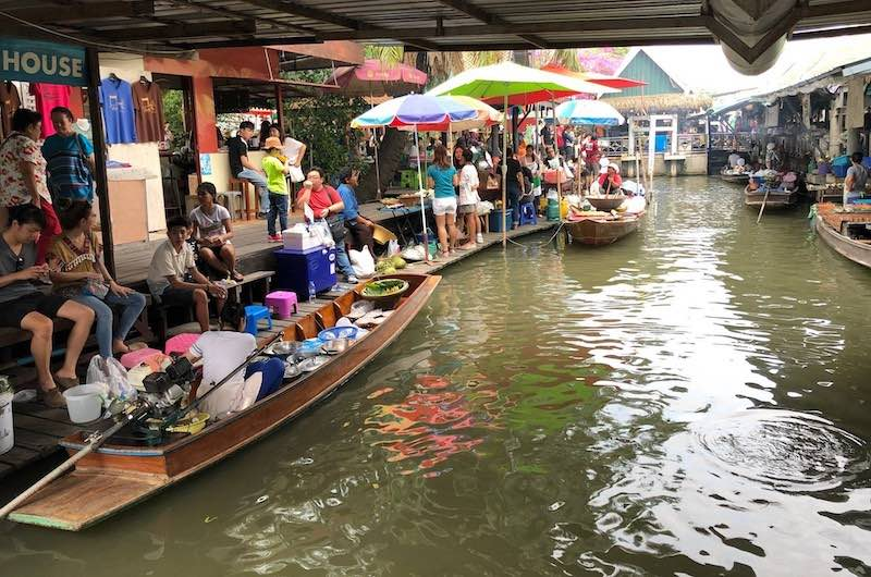 Mercado Flotante de Talin Chan