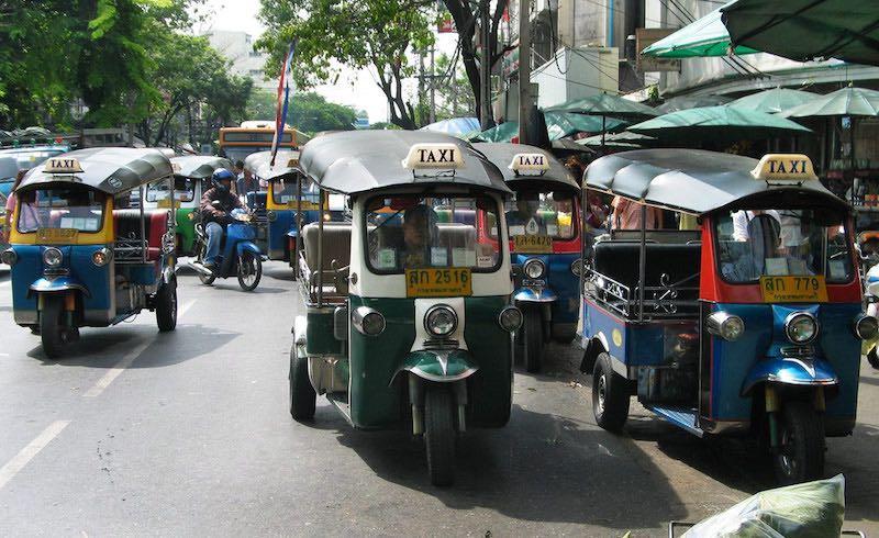 Tuktuk en Bangkok