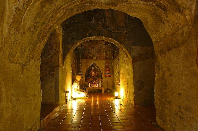 la meditación en Wat Umong