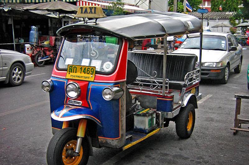 los tuk tuk en tailandia