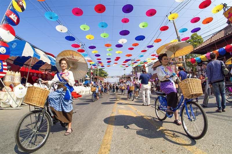 Festival de las sombrillas de Bo Sang