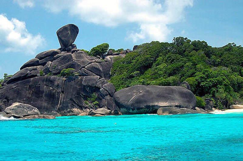 Conoce las hermosas Islas Similan en Tailandia