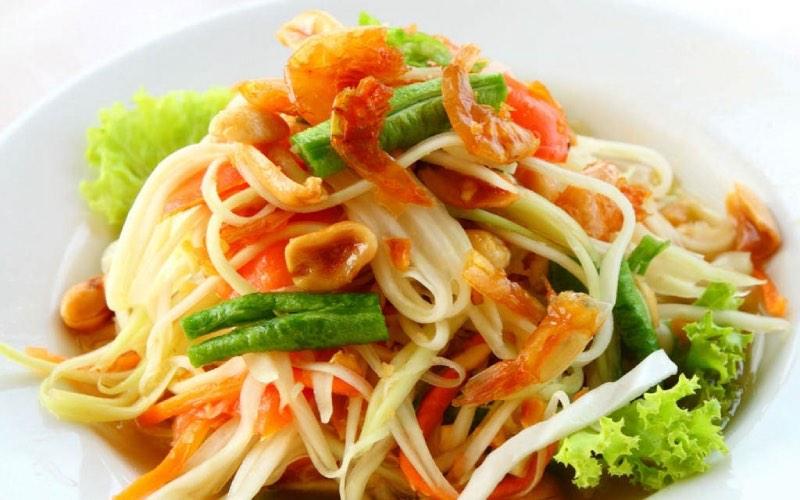 Comida tailandesa saludable e ideal para bajar de peso