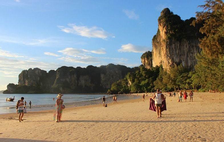 Donde Alojarse en Krabi-Railay-beach