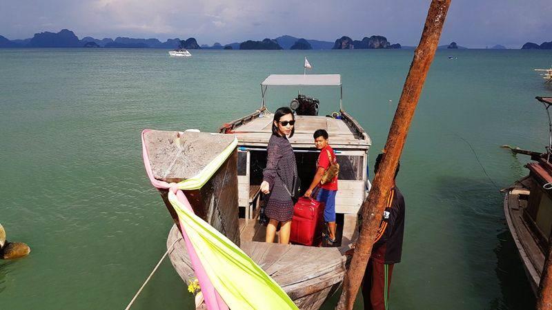 Barco de Krabi a Koh Yao Noi
