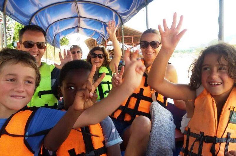 Paseo en barca por el Mekhong en Chiang Rai