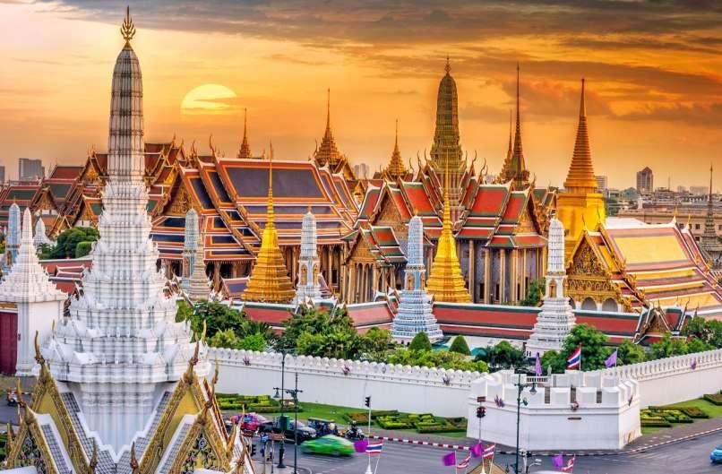 Capital de Tailandia Templos