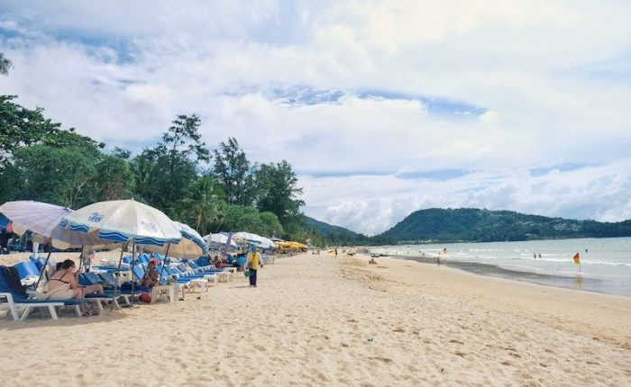 La playa de Patong