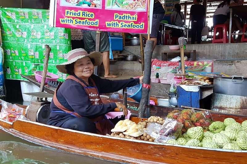 Tailandia en 10 días Mercado Flotante
