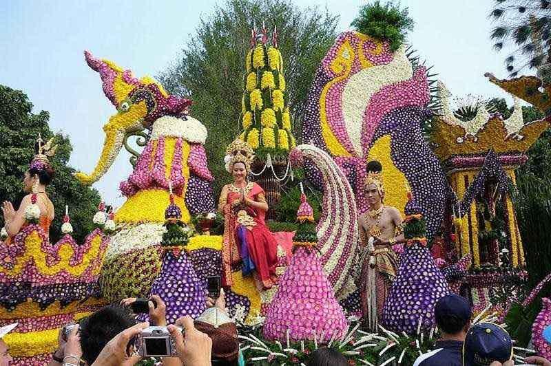 Festival de las Flores Chiang Mai