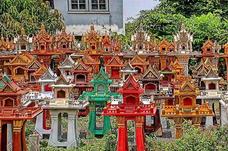 Casas de espiritus en Tailandia
