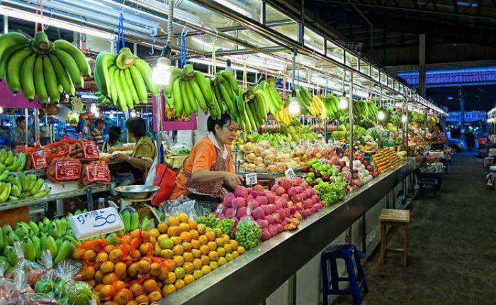 Precios en tailandia de productos frescos