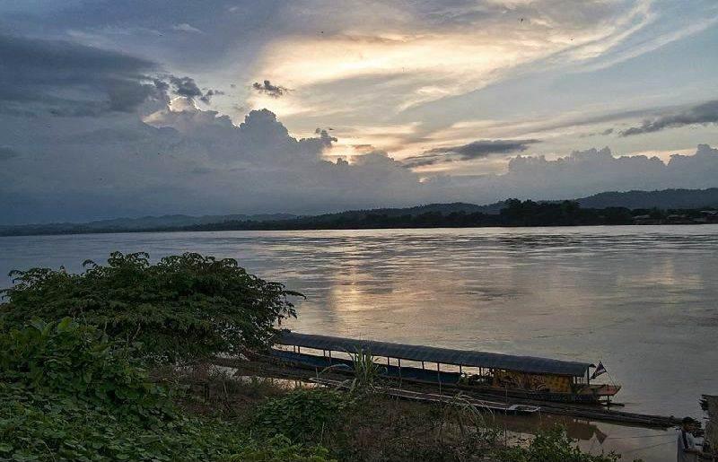 El Rio Mekhong en Tailandia