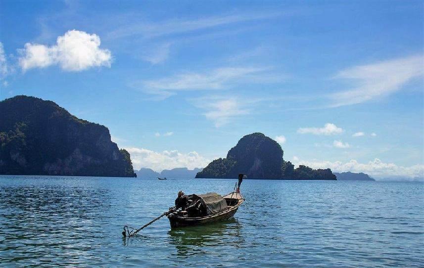 El tiempo en las playas de Tailandia en Agosto