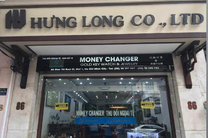 Oficina de cambio  en Vietnam