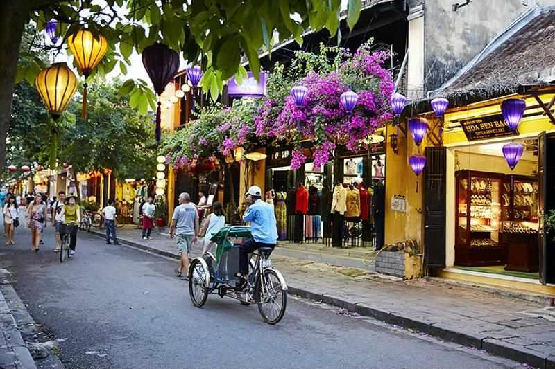 Casco viejo de la localidad de Hoi An en Vietnam