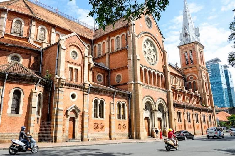 La Catedral de Notre Dame en Ho Chi Minh
