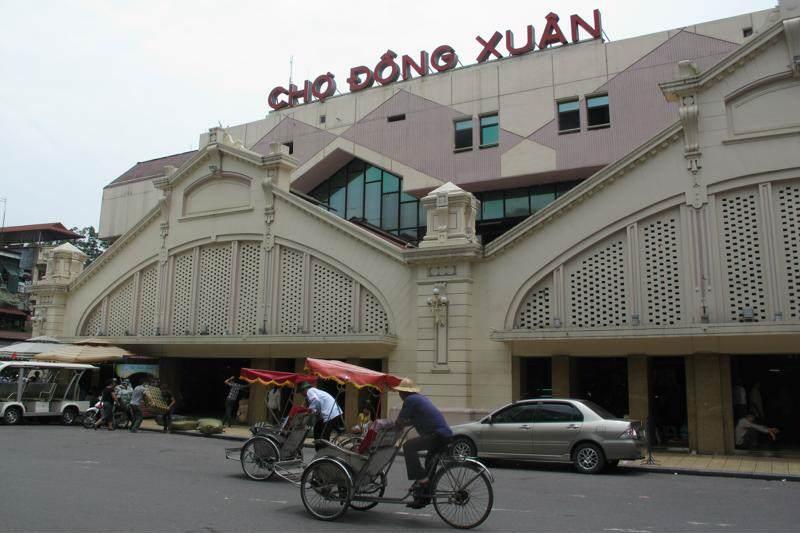 Mercado Dong Xuan de Hanoi