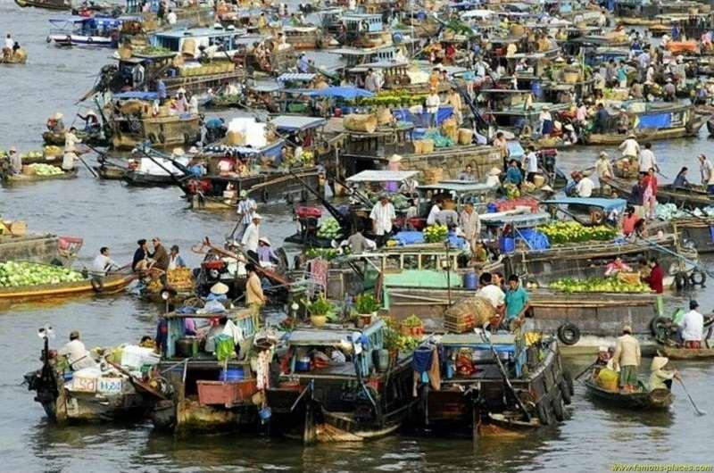 Mercado de Cai Rang