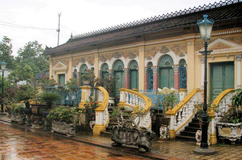 La casa de Binh Tuy en el delta del Mekong