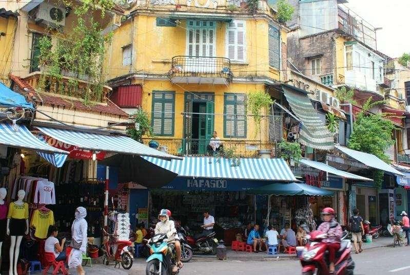 El barrio antiguo de Hanoi
