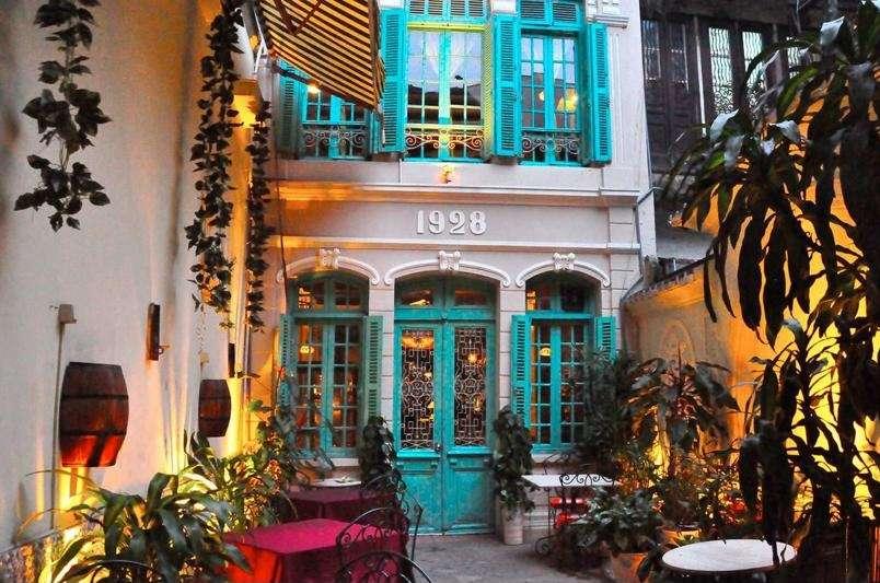 Restaurantes barrio antiguo de Hanoi