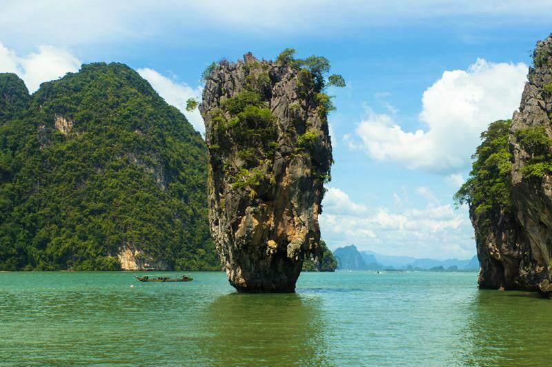 Excursion en Phuket a la Bahía de Phang Na e Isla de James Bond