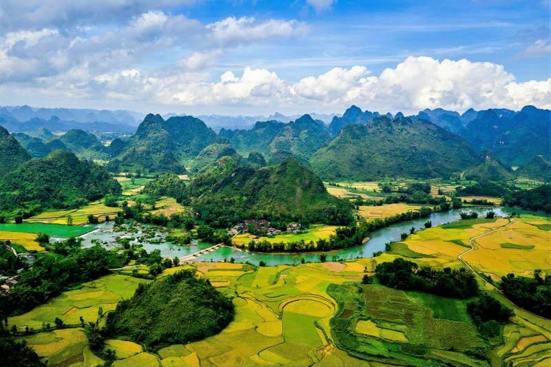 Paisajes de Ninh Binh imprescindible ver en Vietnam